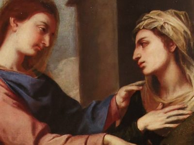 The Visitation and the Gift of Holy Friendship